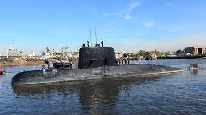 El ARA San Juan fue hallado el 16 de noviembre, justo un año después de su desaparición (EFE)