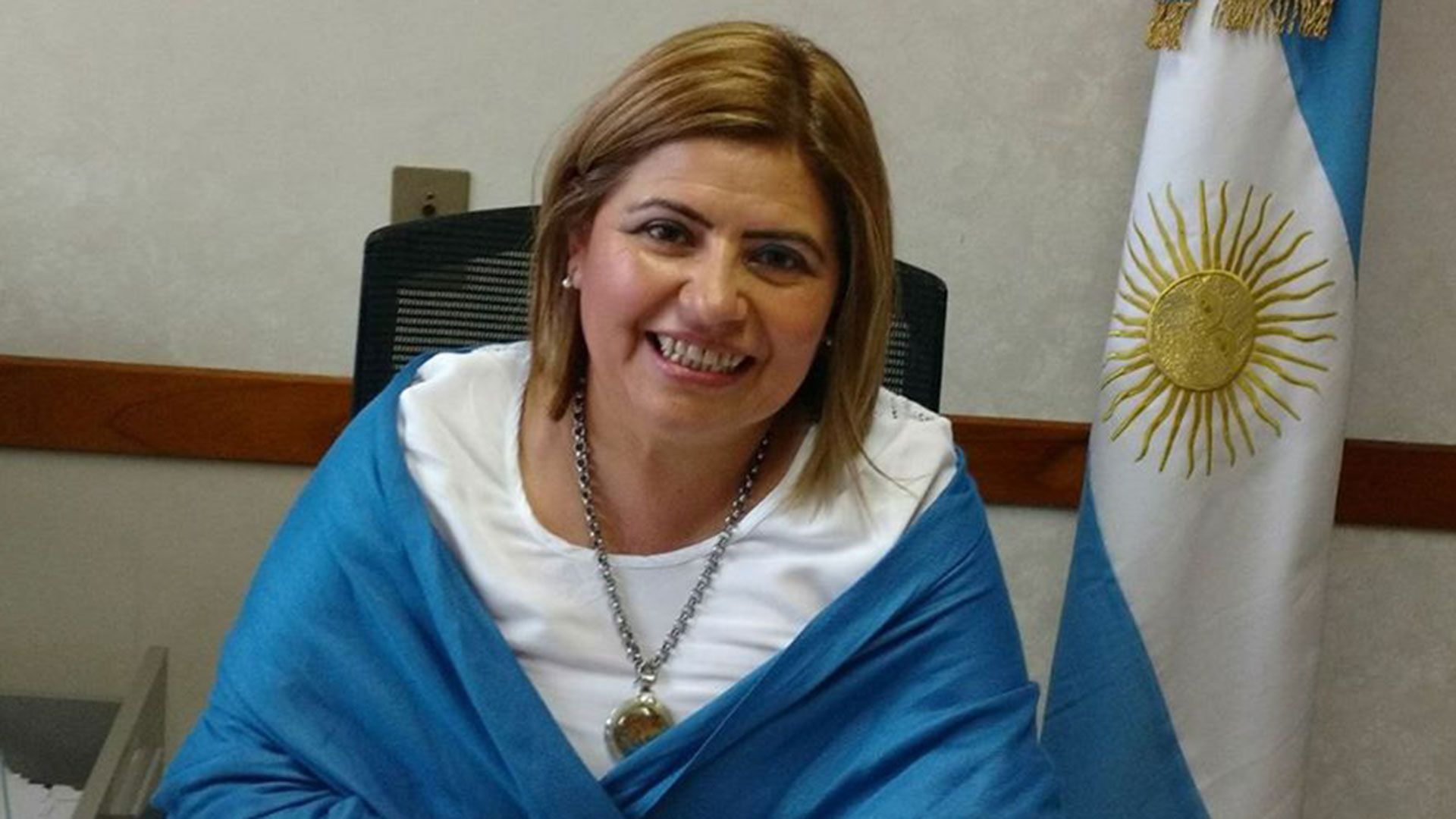 La candidata a senadora nacional por La Rioja Clara Vega