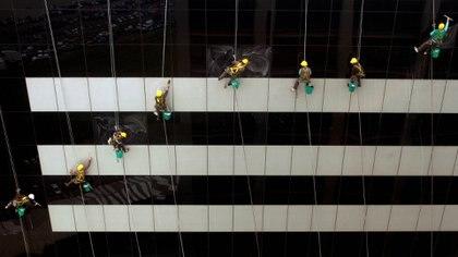 El sector de la construcción fue el más afectado (Foto: Reuters)