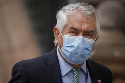 El ministro de Salud de Chile, Enrique Paris (AGENCIA UNO)