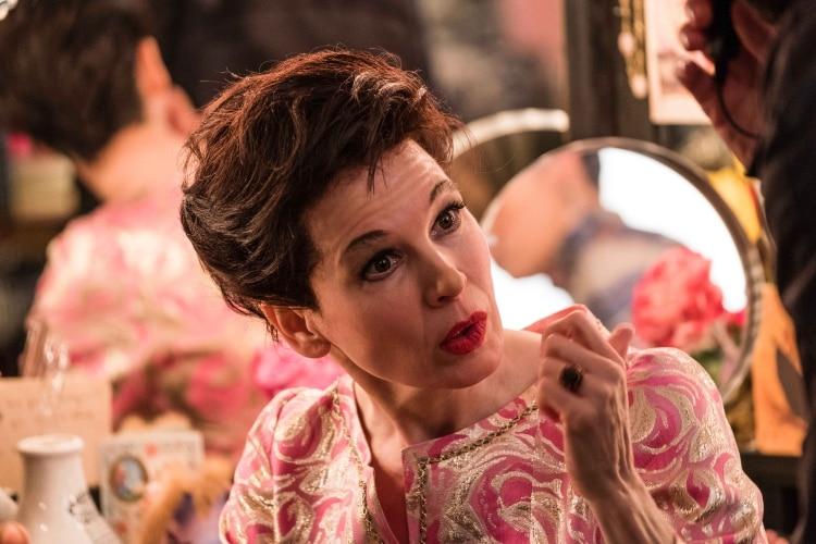 Renée Zellweger como Judy Garland en