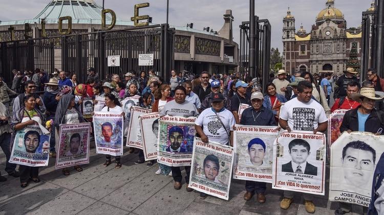 Los estudiantes de Ayotzinapa, uno de los casos más dramáticos de desaparición en México (Crédito: Cuartoscuro)