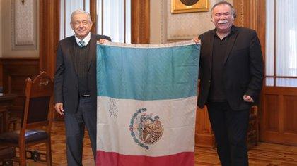 Jesús Ochoa le mandó un mensaje a Eduardo Yáñez (Foto: Andres Manuel López Obrador / Twitter)