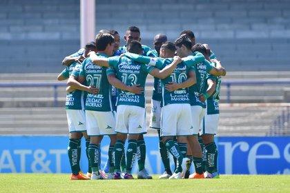 Ambriz explicó que, a pesar de su deseo por ir al Viejo Continente, está concentrado en el equipo (Foto: Cortesía/ Club León/ Sebastian Laureano Miranda/ Imago7)