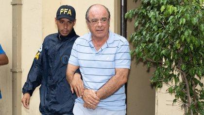 Miguel Ángel Plo, al momento de su detención (Foto: Adrián Escandar
