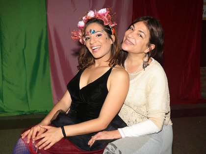 Agostina Alarcón y Claribel Medina (Verónica Guerman)