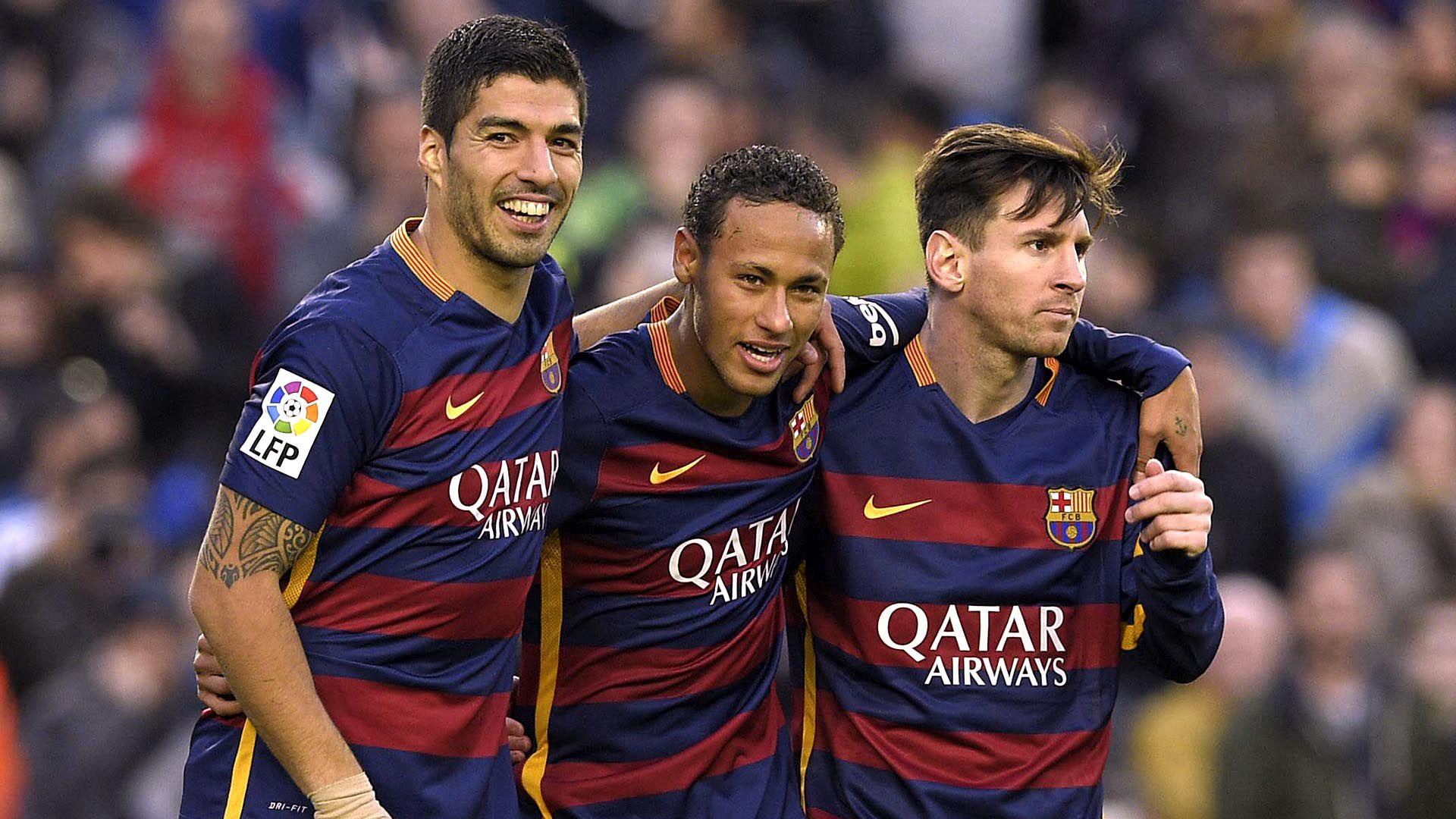 Lionel Messi, Luis Suárez y Neymar fueron una de las mejores tripletas del FC Barcelona (Foto: AFP)