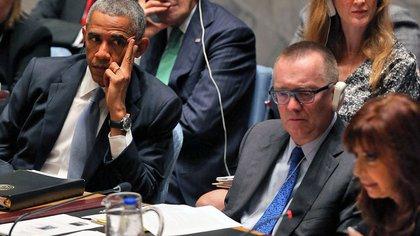 Cristina Kirchner y Barack Obama (AFP)