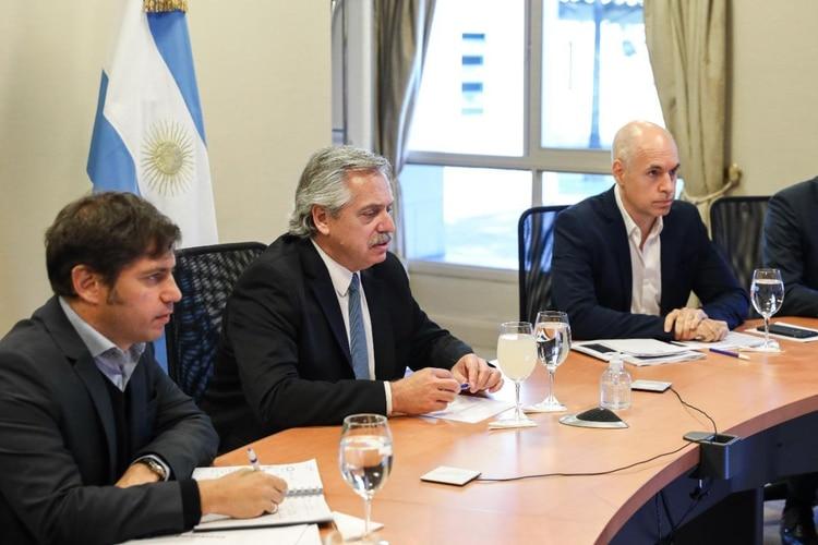 Día de reuniones y definiciones en la Quinta de Olivos: el Presidente anunciará esta noche una nueva etapa de la cuarentena