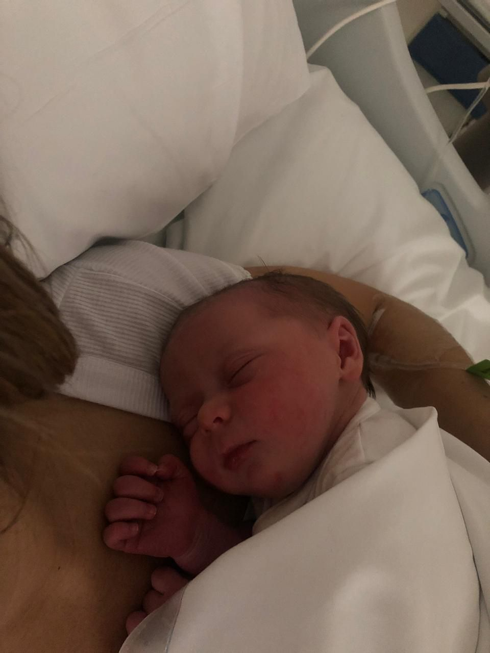 Delfina nació a las 8:39 de este lunes 12 de agosto