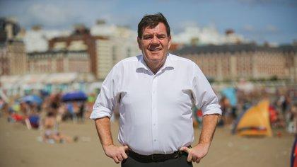 El intendente de Mar del Plata, Guillermo Montenegro, el primero en aprobar el protocolo de apertura