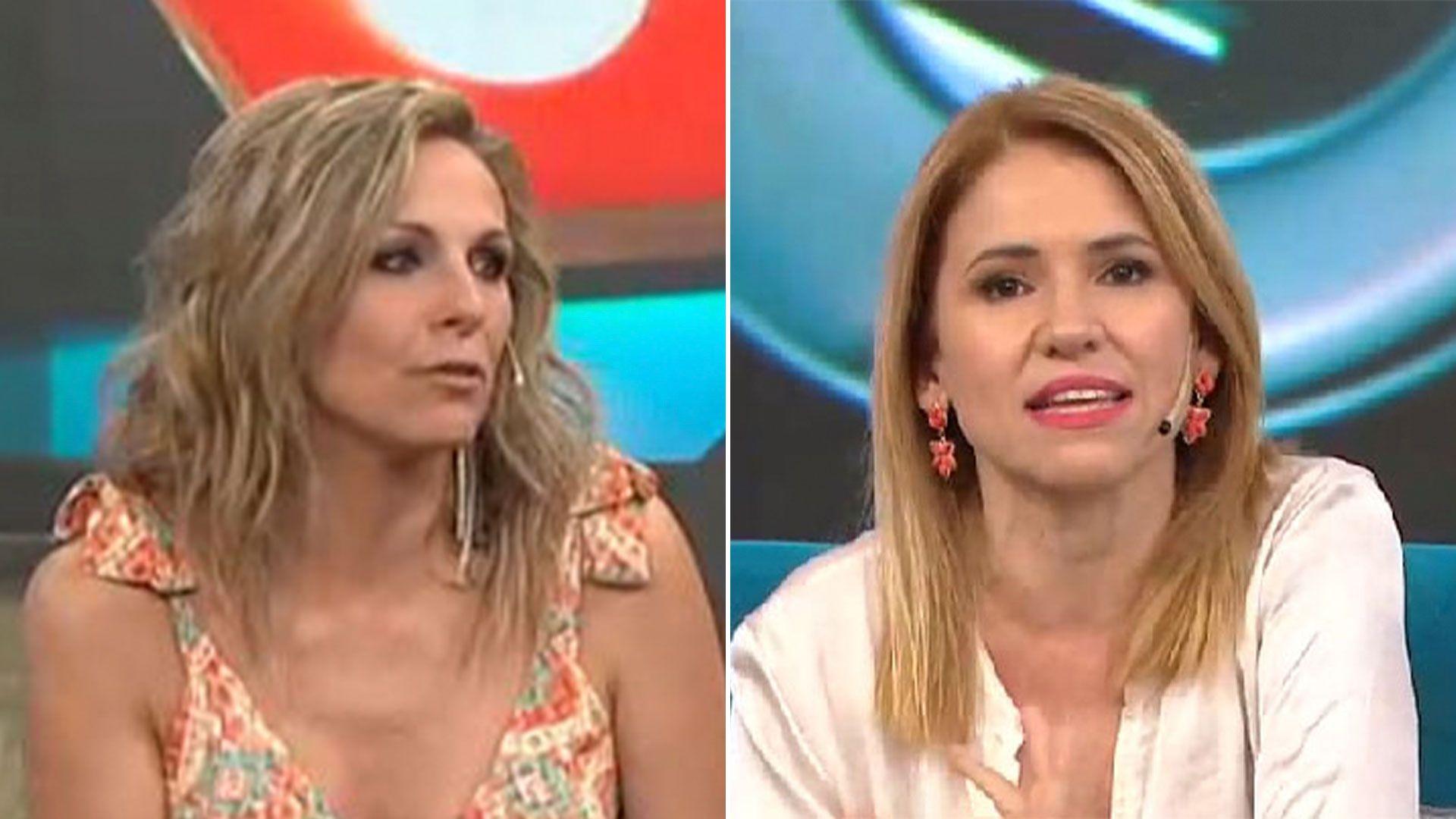Denise Dumas y fernanda Iglesias