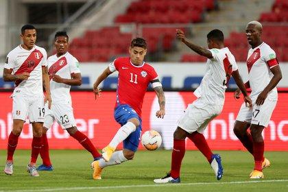 Mora ha sido considerado para defender a su país en la selección nacional (Foto: Ivan Alvarado/ Reuters)