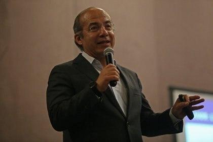Felipe Calderón ex presidente de México FOTO: FERNANDO CARRANZA GARCIA / CUARTOSCURO