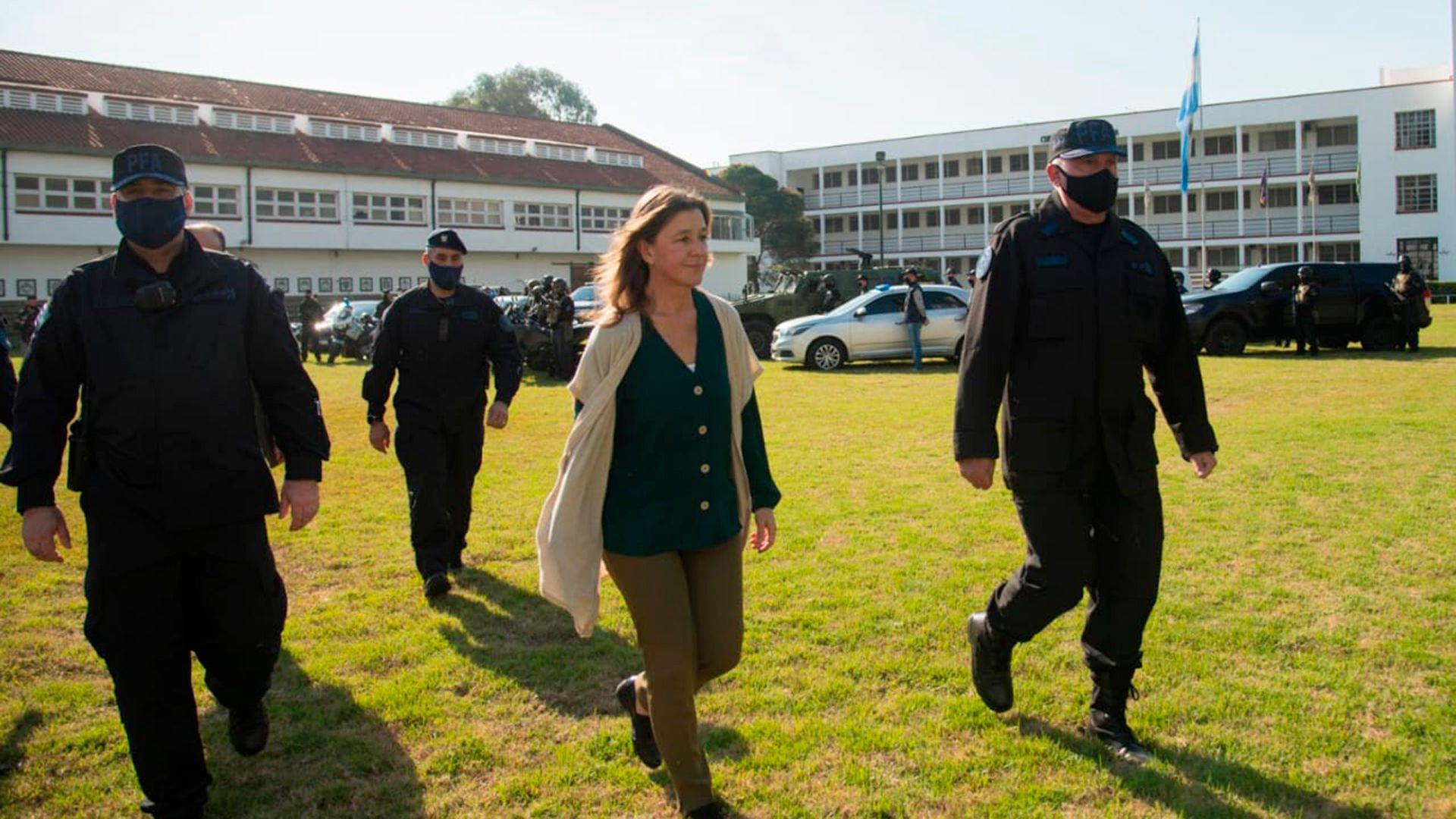 Sabina-Frederic-presenta-Policia-Federal-Fuerza-de-Respuesta-Inmediata