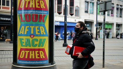 Manchester, Gran Bretaña, el 4 de agosto de 2020. (Reuters)