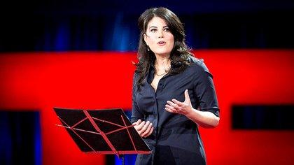 Monica Lewinsky en su charla TED (Reuters)