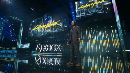Keanu Reeves presentó el juego en la E3 del 2019