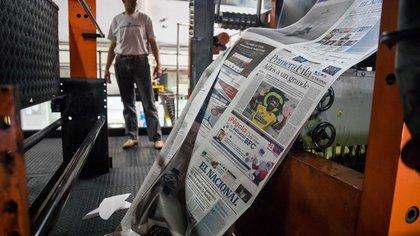"""La oposición venezolana acusó al régimen de Nicolás Maduro de querer """"exterminar la prensa libre"""""""