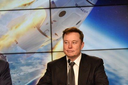 Musk, en una entrevista tras un lanzamiento espacial con la NASA REUTERS/Steve Nesius/File Photo