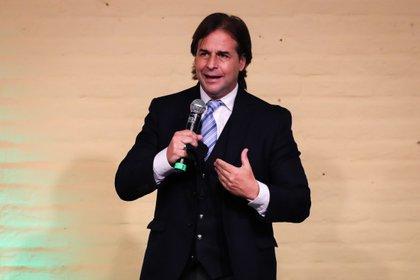 El presidente de Uruguay Luis Lacalle Pou. EFE/Raúl Martínez/Archivo