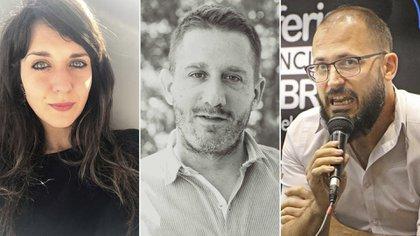 Marinone, Gorodischer y Picco, los jurados de esta edición.