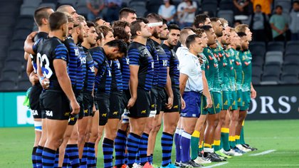Los Pumas cierran el Tres Naciones ante Australia (AFP)