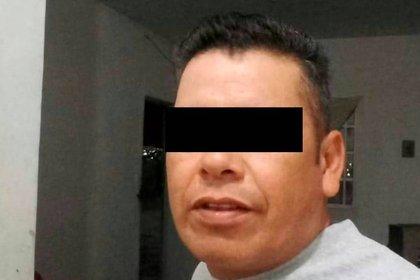 """José Cruz """"N"""" dijo que el crimen fue por celos Foto: Fiscalía General de Coahuila"""