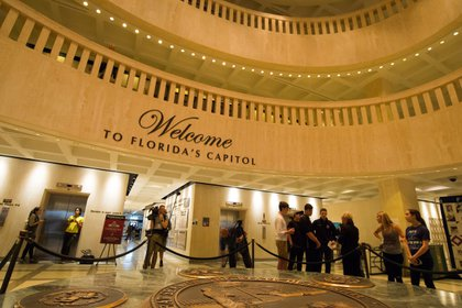 Vista de la sede del Congreso de Florida en Tallahassee, Florida (Estados Unidos). EFE/Colin Abbey/Archivo