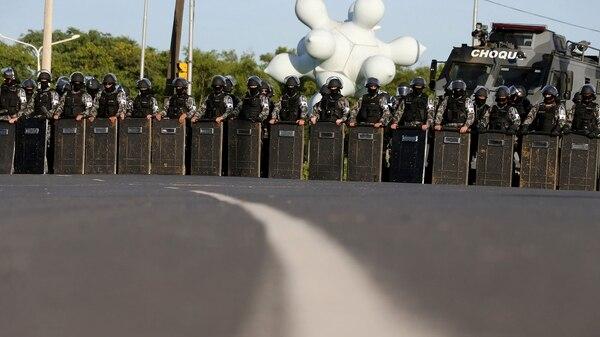 Las autoridades temen enfrentamientos en los alrededores del juzgado (Reuters)
