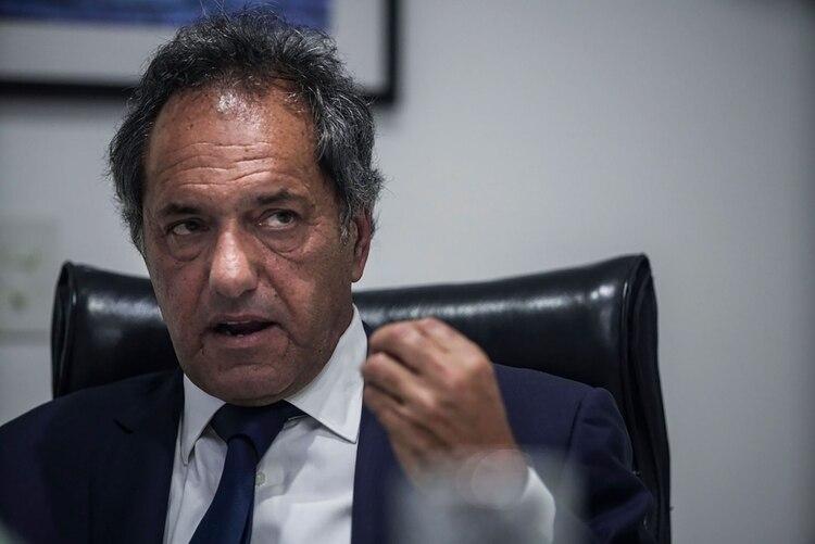 Daniiel Scioli nunca aceptó la candidatura de Zannni, que fue una imposición de CFK