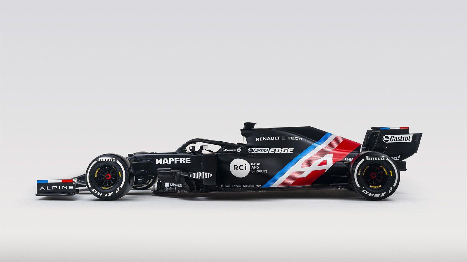 14/01/2021 Coche Alpine que pilotará Fernando Alonso MOTOR DEPORTES DEPORTES DEPORTES F1 MOTOR MUNDIAL DEPORTES ALPINE