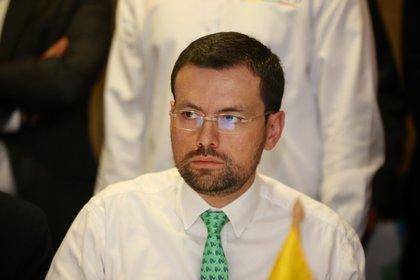 Bogotá,12 de Febrero de 2020. Primera Asamblea de los mandatarios departamentales. En la foto: Luis Carlos Velásquez Cardona, Gobernador de caldas. (Colprensa - Álvaro Tavera)