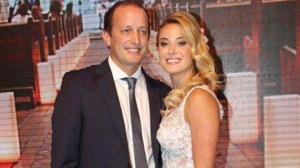 Martín Insaurralde y Jésica Cirio