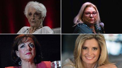 Graciela Fernández Meijide, Elisa Carrió, Nilda Garré y María Laura Leguizamón: algunas de las políticas que entraron al Congreso en las primeras elecciones legislativas con cupo femenino (1993 y 1995)