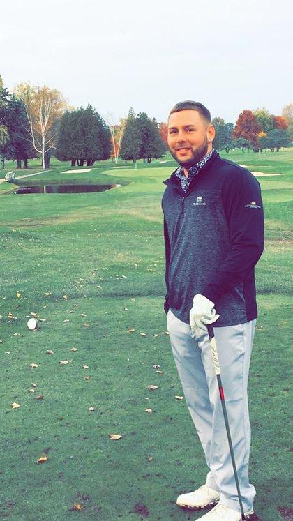 Landers era profesional de golf en Estados Unidos (Foto: Facebook/Pat Landers)