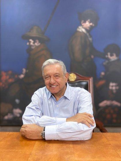 El presidente Andrés Manuel López obrador emitió un mensaje dominical sobre la pandemia por COVID-19 (Video: Twitter@Lopezobrador_)