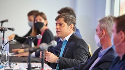 El gobernador de Buenos Aires, Axel Kicillof