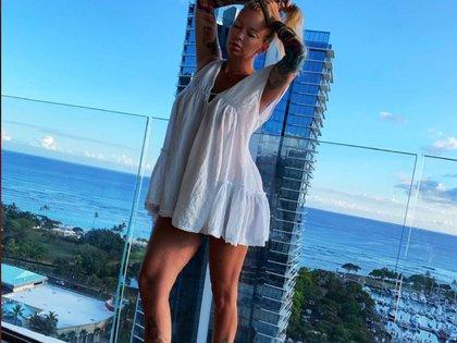 Jenna Massoli renunció en la cúspide de su carrera a las cámaras, para llevar una vida tranquila en Hawái.  (Foto: Archivo)
