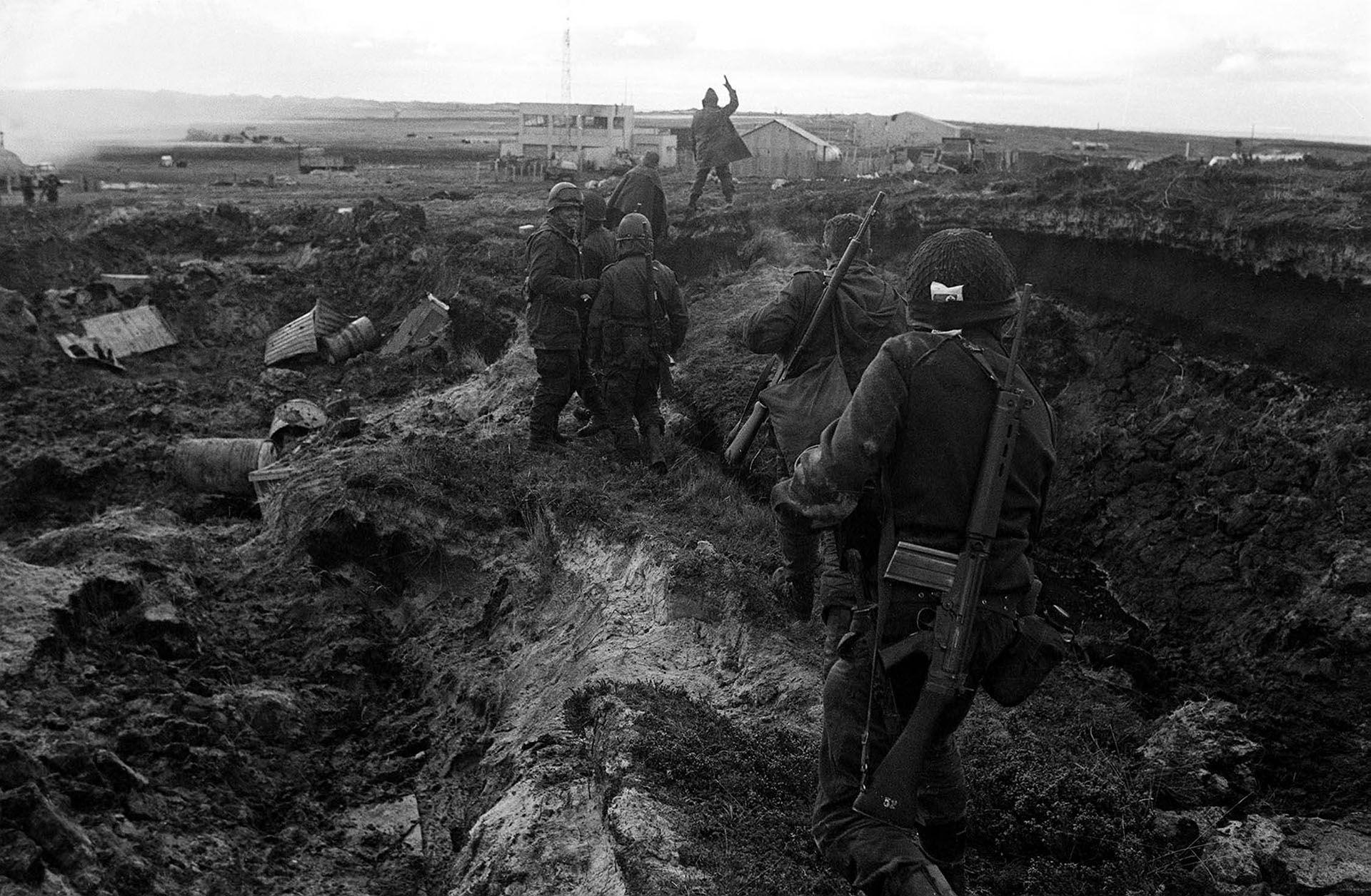 """Diario de la guerra de Malvinas: así fue """"el día más largo del siglo"""""""