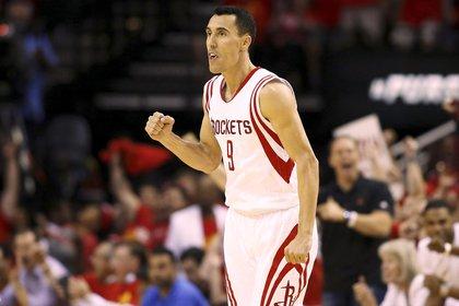 Pablo Prigioni, otro argentino que pasó por Houston Rockets (AFP)