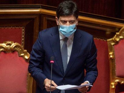 El ministro de Salud italiano, Roberto Speranza. EFE/EPA/MAURIZIO BRAMBATTI