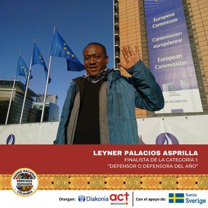 Foto: Premio Nacional de Derechos Humanos en Colombia 2020.