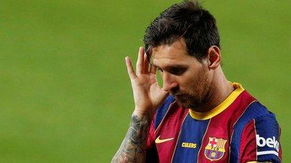 Lionel Messi marcó un gol en el inicio de la etapa de Ronald Koeman como entrenador del Barcelona (Reuters)