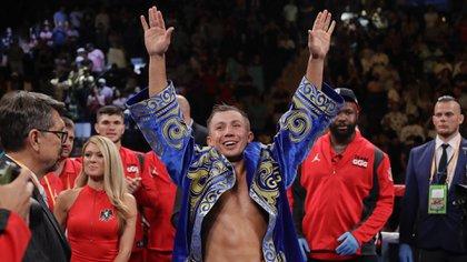 Golovkin recuperó su título mundial (Foto: AP)