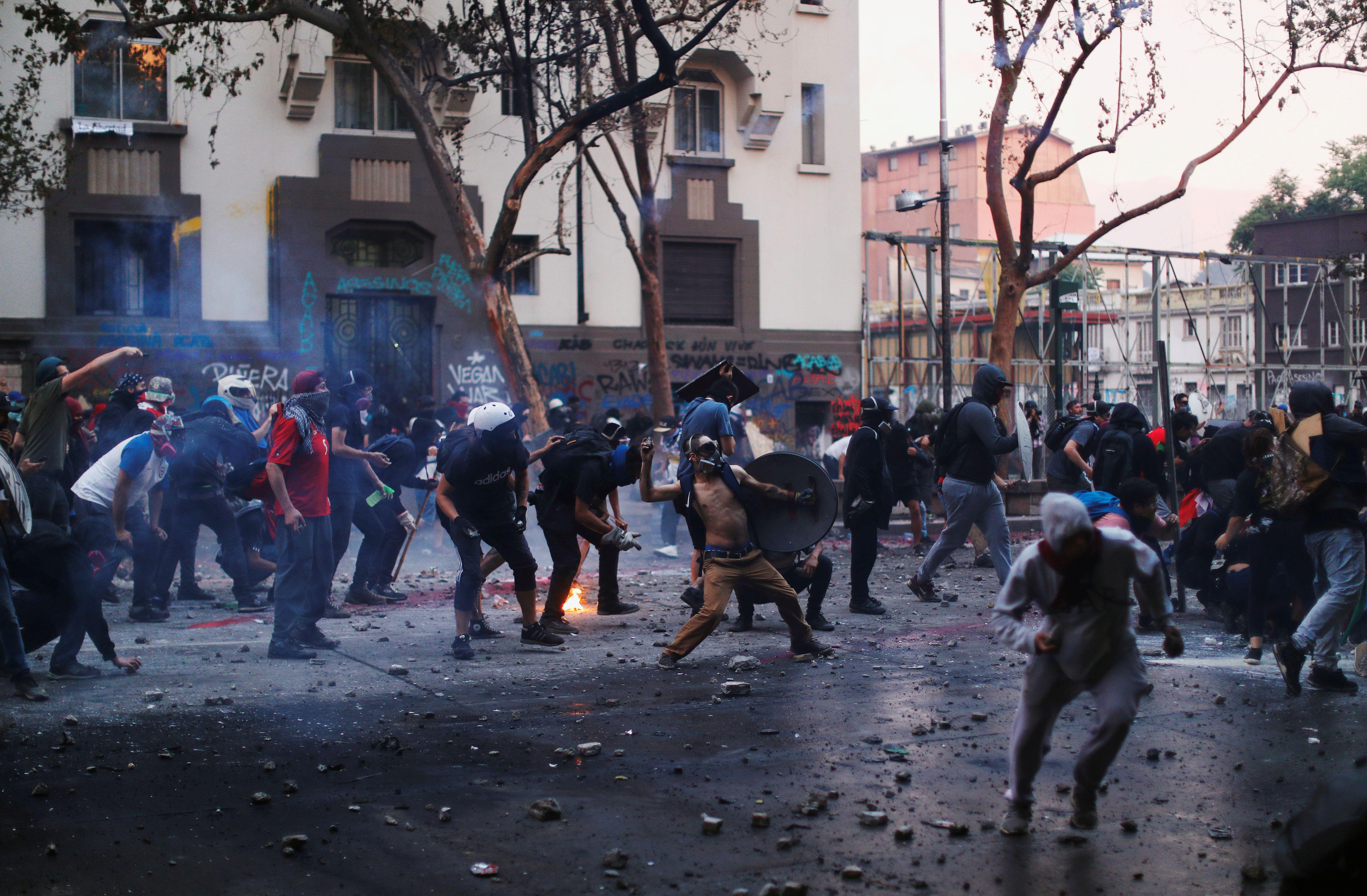El Grupo de Puebla le pide a Sebastián Piñera que atienda los reclamos de los chilenos / REUTERS/Jorge Silva