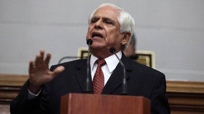 Omar Barboza, presidente de la Asamblea Nacional opositora