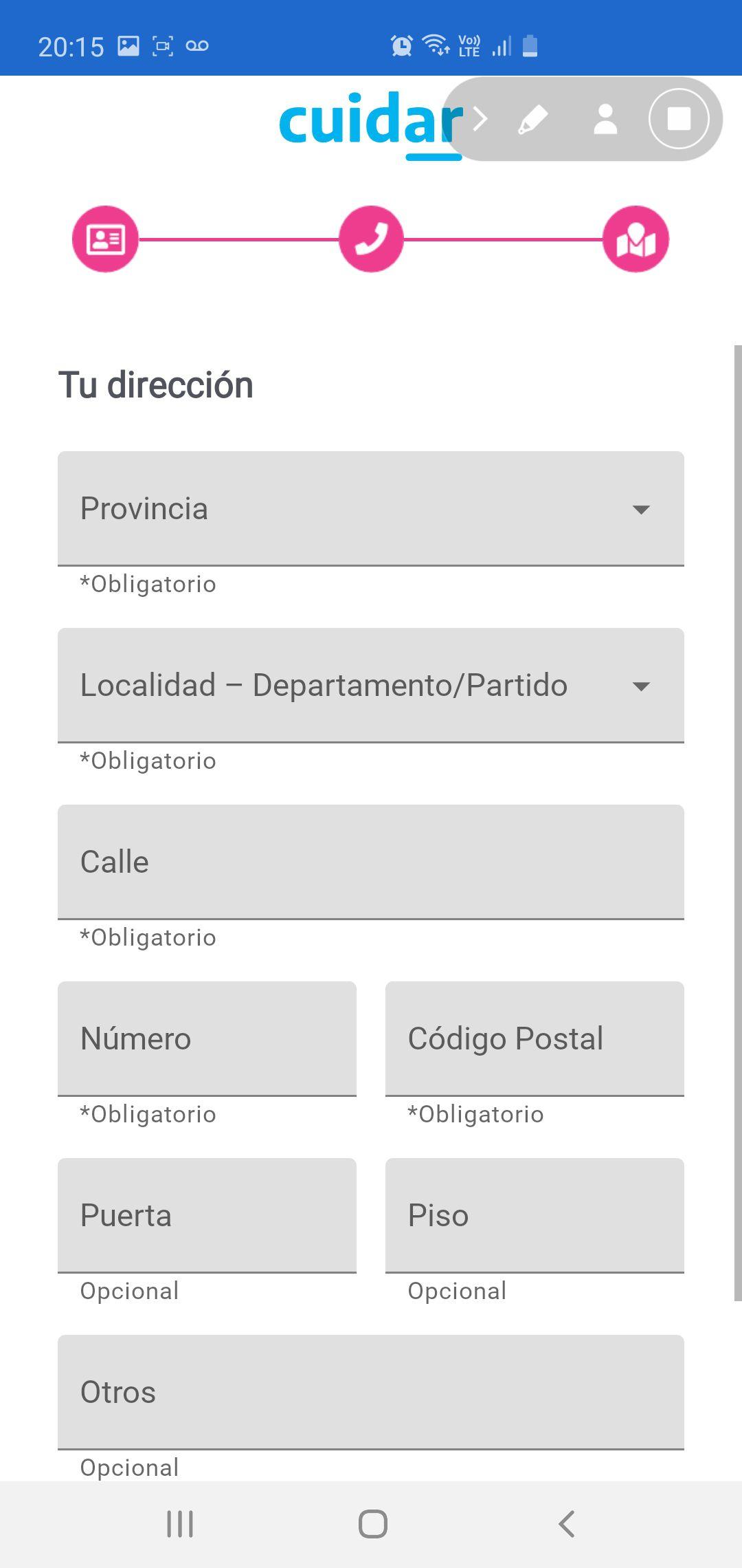 La app fue desarrollada en conjunto por la Secretaría de Innovación Pública, el Ministerio de Ciencia y Tecnología de la Nación, la Fundación Sadosky, el Conicet y la Cámara de la Industria Argentina del Software