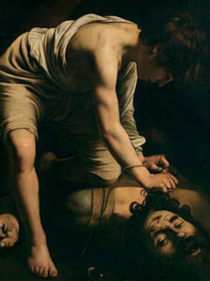 David decapitando a Goliat. La cruda versión de Caravaggio