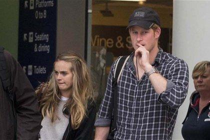 El príncipe Harry y su ex novia, Cressida Bonas